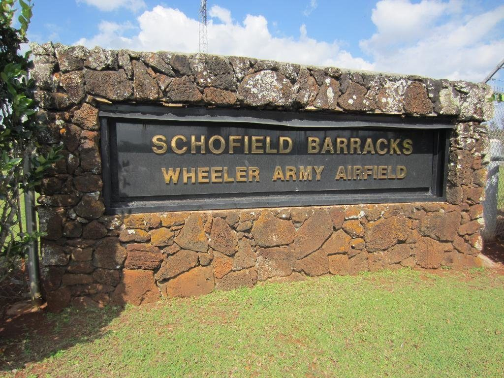 Ied Lane Schofield Barracks Map on